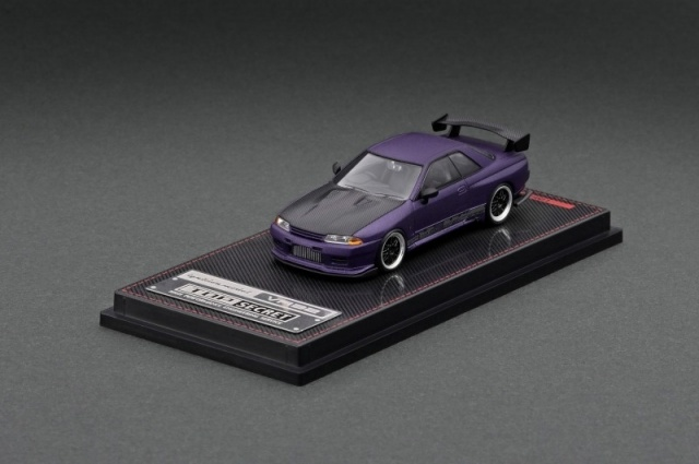 Ignition 1/64 TOP SECRET GT-R (VR32) Matte Purple Metallic