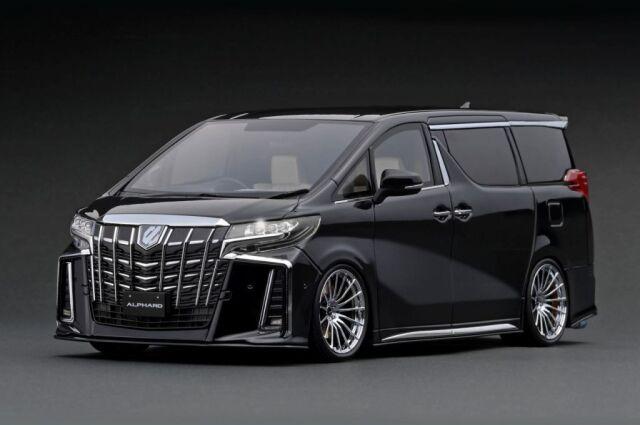 <予約 2022/4月発売予定> Ignition 1/18 Toyota Alphard (H30W) Executive Lounge S Black