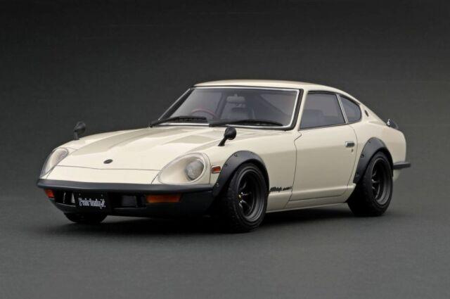 <予約 2022/4月発売予定> Ignition 1/18 Nissan Fairlady 240ZG (HS30) White