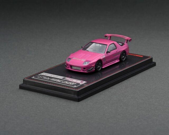 <予約 2022/3月発売予定> Ignition 1/64 Mazda RX-7 (FC3S) RE Amemiya Matte Purple Metallic
