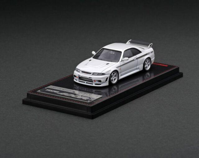 <予約 2022/3月発売予定> Ignition 1/64 Nismo R33 GT-R 400R Pearl White