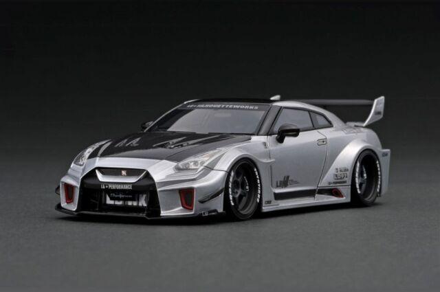 <予約 2022/4月発売予定> Ignition 1/43 LB-Silhouette WORKS GT Nissan 35GT-RR Silver