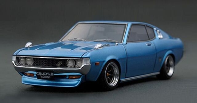 <予約 2022/5月発売予定> Ignition 1/18 Toyota Celica 1600GT LB (TA27) Blue Metallic