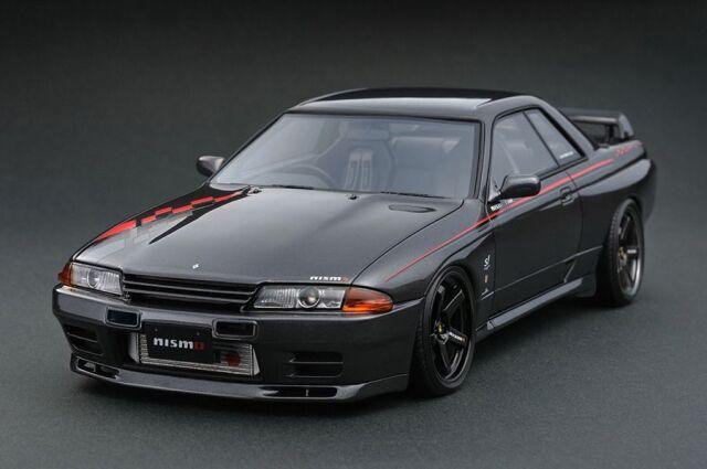 <予約 2022/3月発売予定> Ignition 1/64 Nissan Skyline GT-R Nismo (R32) Gun Metallic