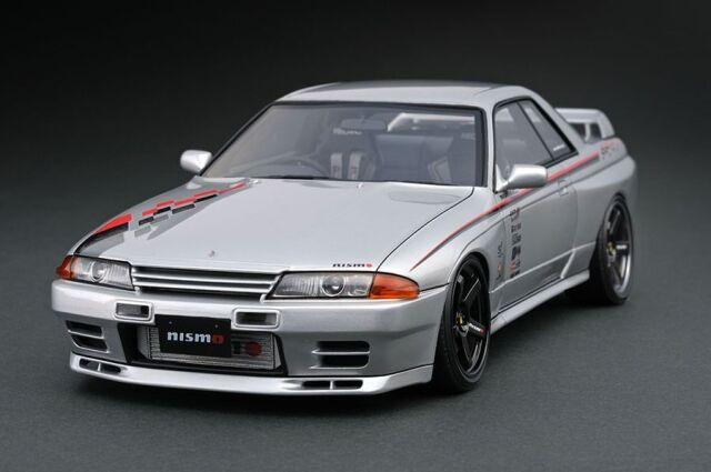 <予約 2022/3月発売予定> Ignition 1/64 Nissan Skyline GT-R Nismo (R32) Silver