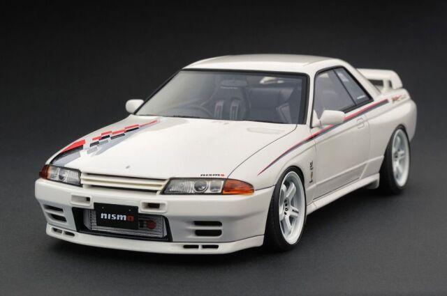 <予約 2022/3月発売予定> Ignition 1/64 Nissan Skyline GT-R Nismo (R32) White