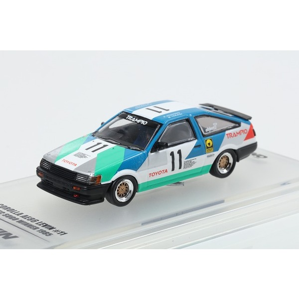【INNO】 1/64 トヨタ カローラ レビン AE86 #11 TRAMPIO JTCC 1985
