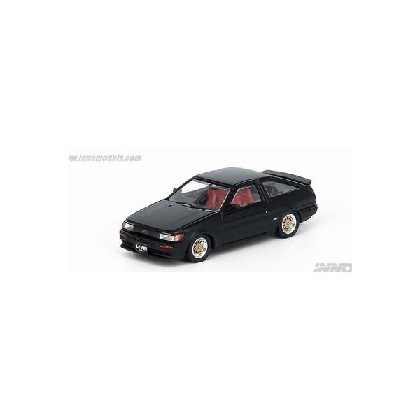 INNO 1/64 スプリンター トレノ AE86 ブラック
