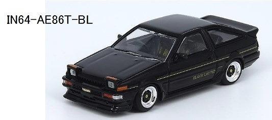 <予約> INNO 1/64 スプリンター トレノ AE86 ブラック