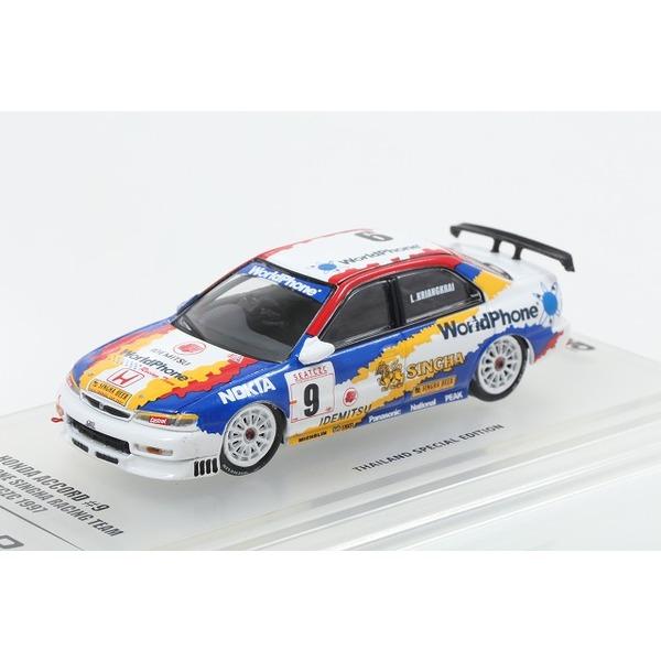 【INNO】 1/64 ホンダ アコード CD6 World Phone Singha レーシングチーム SEATCZC 1997 #9
