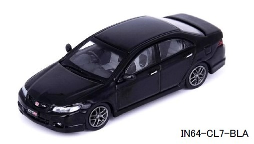 INNO 1/64 Honda アコード Euro-R (CL7) Nighthawk ブラックパール