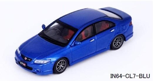 INNO 1/64 Honda アコード Euro-R (CL7) Artic ブルーパール