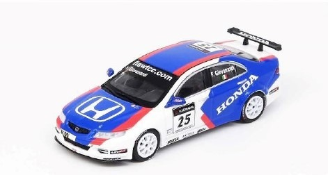 "INNO 1/64 Honda アコード Euro-R (CL7) ""JAS MOTORSPORT"" #25 WTCC of Macau 2006"