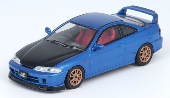 INNO 1/64 Honda インテグラ Type-R DC2 ブルー