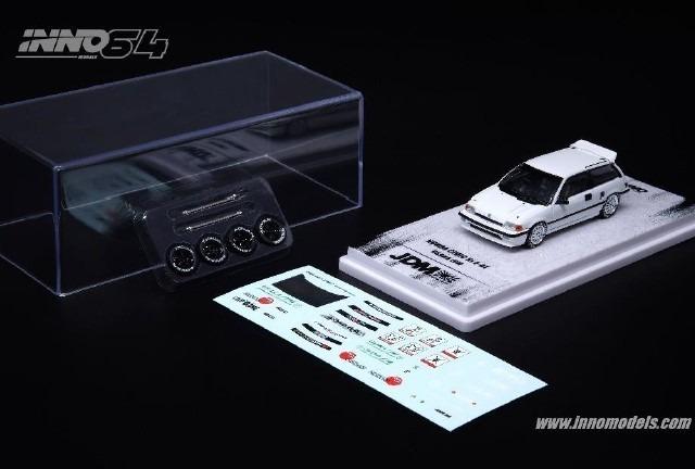 <予約 2020/10月発売予定> INNO 1/64 Honda シビック Si E-AT OSAKA JDM