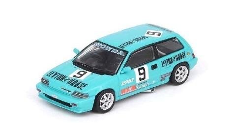 INNO 1/64 Honda シビック E-AT #9 Macau Guia Race 1986