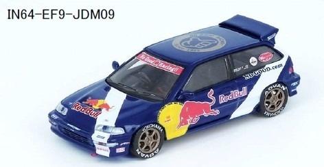 "INNO 1/64 Honda シビック EF9 ""No Good Racing"""