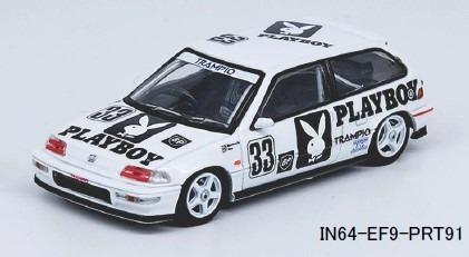 "INNO 1/64 Honda シビック EF9 #33 ""Team Racing Forum"" JTC 1991"