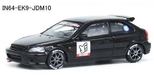 "INNO 1/64 ホンダ シビック Type-R EK9 ""NO GOOD RACING"""