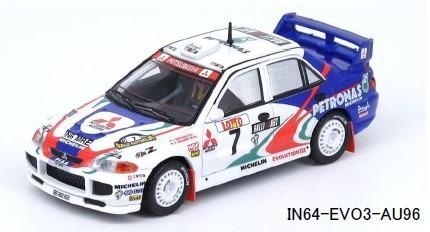 INNO 1/64 三菱 ランサー エボリューション III #7 Australia Rally 1996