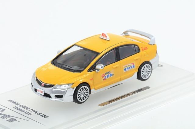 INNO 1/64 ホンダ シビック Type-R FD2 台湾タクシー