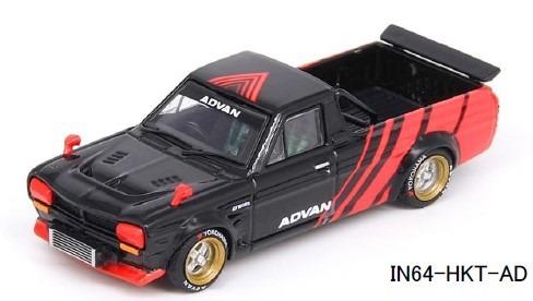 """INNO 1/64 Nissan サニートラック """"HAKOTORA """"ADVAN"""" Concept Livery"""