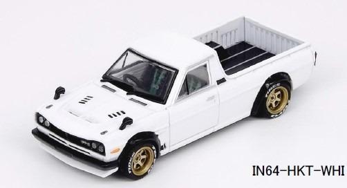 """INNO 1/64 Nissan サニートラック """"HAKOTORA"""" ホワイト"""