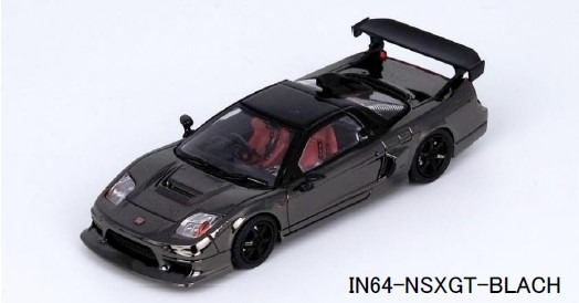 INNO 1/64 Honda NSX-R GT (NA2) ブラッククローム