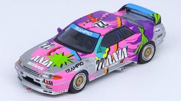 """INNO 1/64 Nissan スカイライン #22 """"AXIA"""" JTC 1992"""