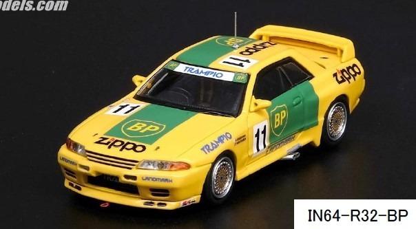 "INNO 1/64 Nissan スカイライン GT-R R32 #11 ""BP OIL TRAMPIO ""インターテック '93"