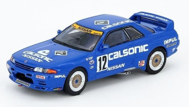 "INNO 1/64 Nissan スカイライン GT-R R32 #12 ""CALSONIC"" JTC 1990"