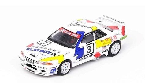 "INNO 1/64 Nissan スカイライン GT-R (R32) ""Team HKS"" #3 Macau Guia Race 1991"