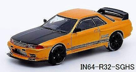 INNO 1/64 スカイライン GT-R R32 ローズ ゴールド 香港限定