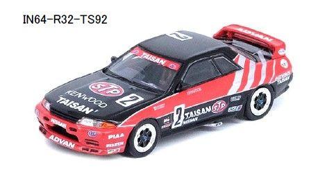 <予約 2021/11月発売予定> INNO 1/64 Nissan スカイライン GT-R R32 #2 TAISAN JTC 1992
