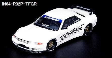 """INNO 1/64 スカイライン GT-R R32 PANDEM """"TOFUGARAGE"""""""