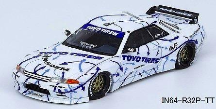 """INNO 1/64 Nissan スカイライン GT-R R32 Rocket Bunny-Pandem """"TOYO TIRES"""""""