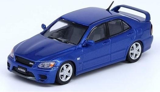 INNO 1/64 トヨタ アルテッツァ RS200 Z-Edition ブルー