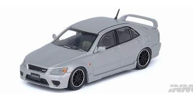 INNO 1/64 トヨタ アルテッツァ RS200 Z-Edition シルバー 交換用ホイールセット デカール付