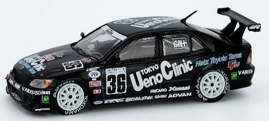 INNO 1/64 トヨタ アルテッツァ RS200 #36 Ueno Clinic Toms Super Tailkyu 2000 Final Round Class