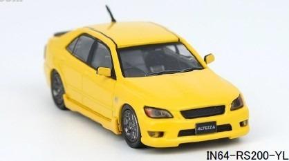 INNO 1/64 トヨタ アルテッツァ RS200 イエロー (日本限定)