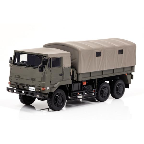 【アイランズ】 1/43 陸上自衛隊 3・1/2t トラック (73式大型トラック SKW477 幌付)