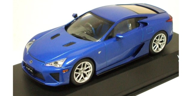Jcollection 1/43 Lexus LFA Blue Metallic