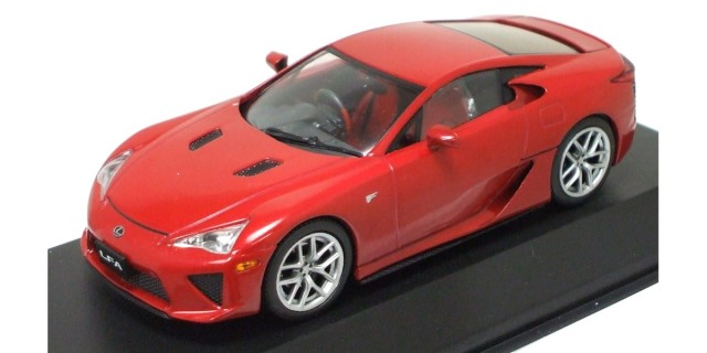 Jcollection 1/43 Lexus LFA Red Metallic