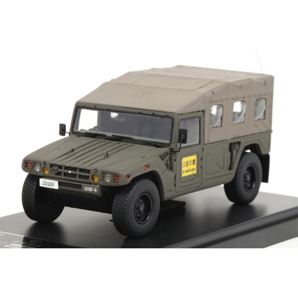 【モノクローム】 1/43 高機動車 第36普通科連隊 本部管理中隊 伊丹駐屯地
