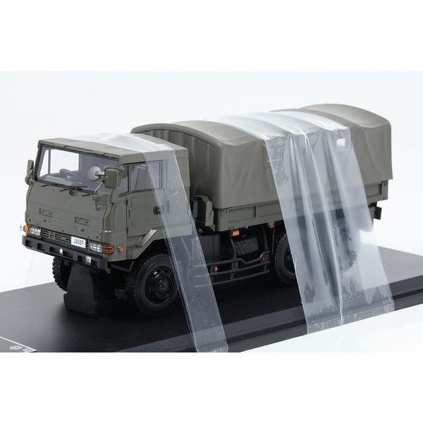 【モノクローム】 1/43 3.5tトラック SKW477型 施設教導隊 本部管理中隊 勝田駐屯地