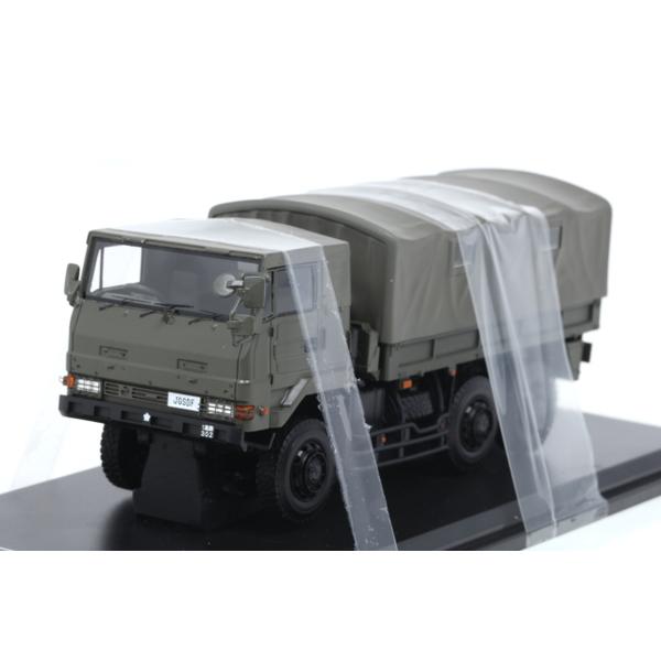 【モノクローム】 1/43 3.5tトラック SKW476型 陸上自衛隊 第1高射特科群 東千歳 駐屯地