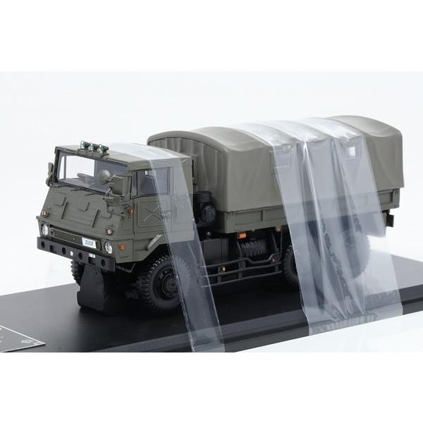 【モノクローム】 1/43 3.5tトラック SKW464型 陸上自衛隊 第1師団 第1 施設大隊 朝霞駐屯地