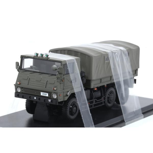 【モノクローム】 1/43 3.5tトラック SKW464型 陸上自衛隊 第44普通科連隊本部 福島駐屯地