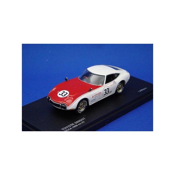 1/43 トヨタ 2000GT SCCA 1968 No.33