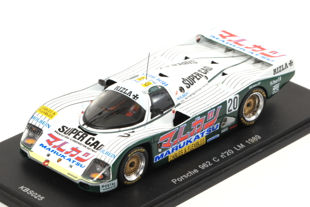 spark 1/43 Porsche 962 C No.20 LM 1989